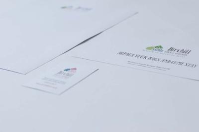 Birchhill Farm stationery | Salt Media