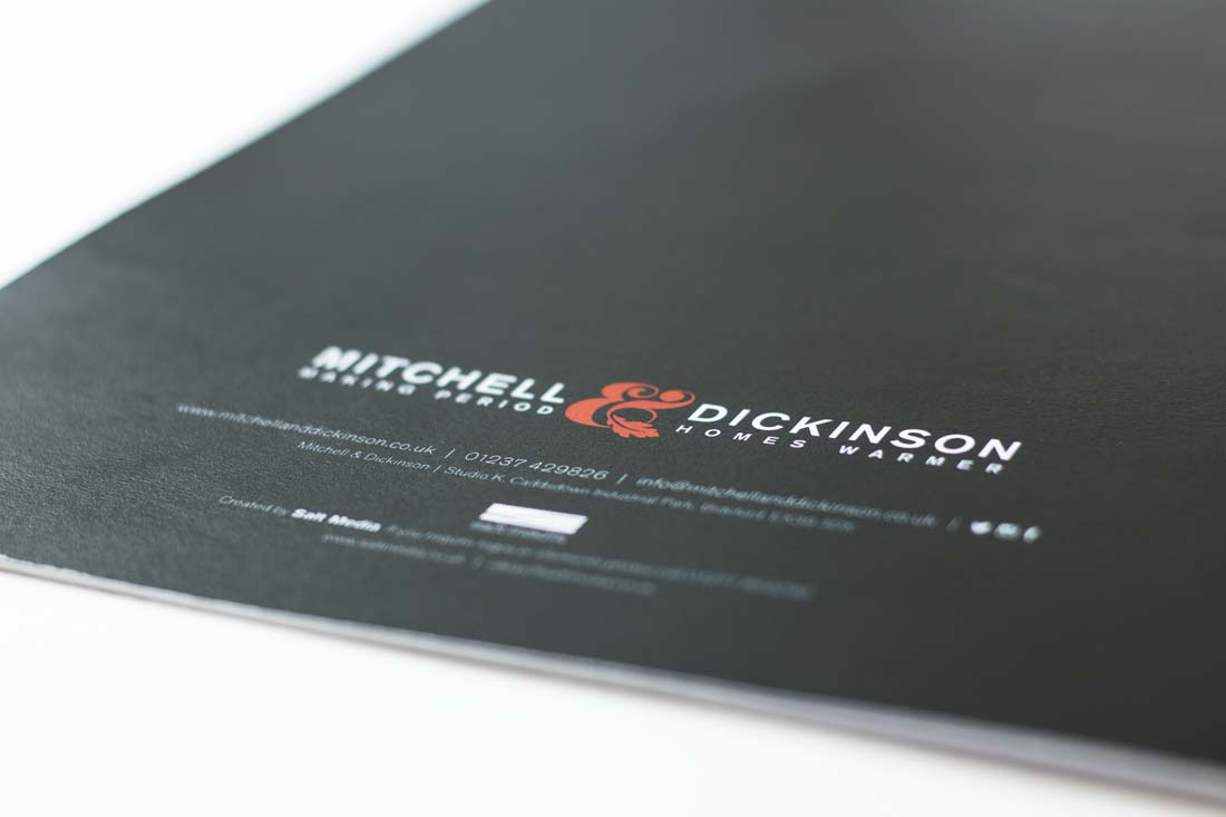 Mitchell & Dickinson brochure | Salt Media