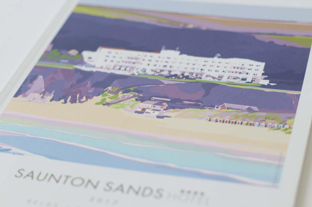 saunton book cover close up