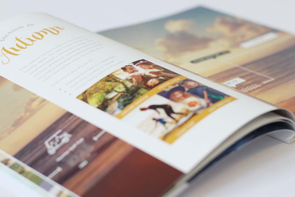 saunton book spread