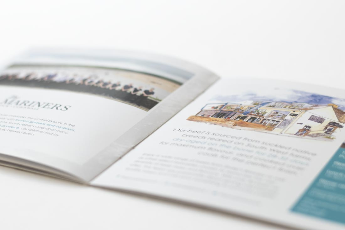 Nathan Outlaw brochure | Salt Media