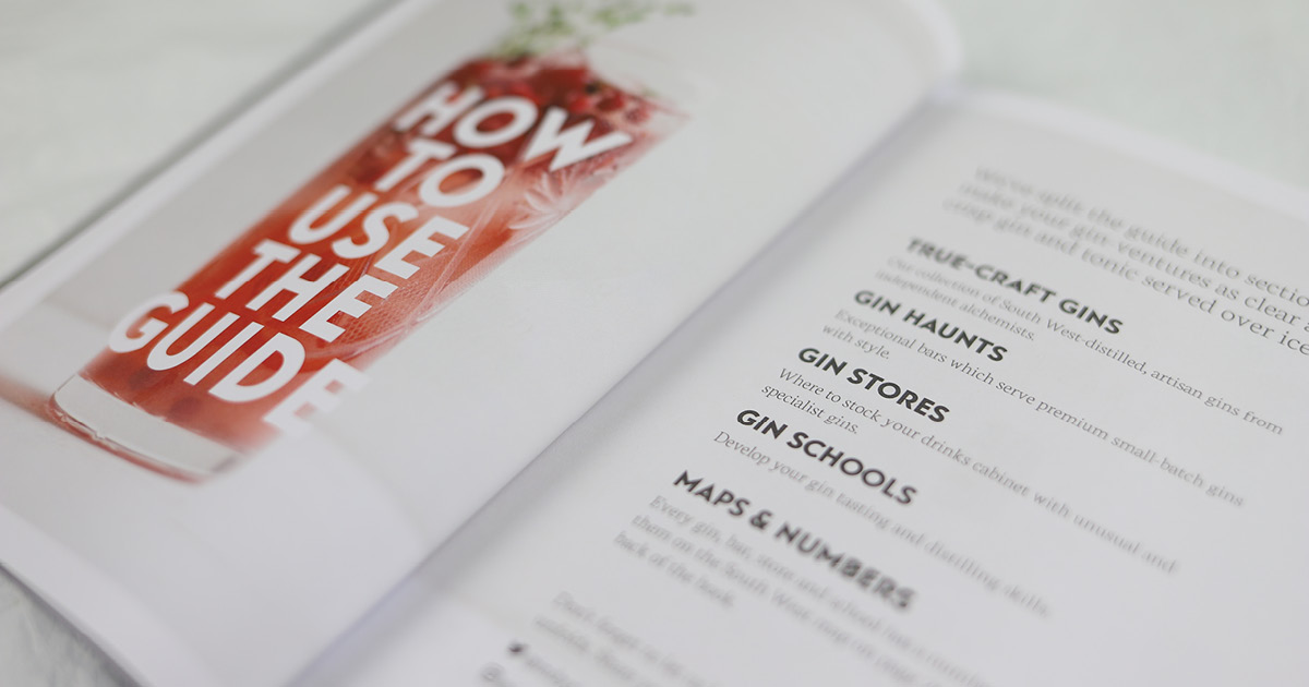 South West Independent Gin Guide preview