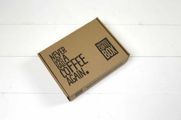 indy coffee box packaging