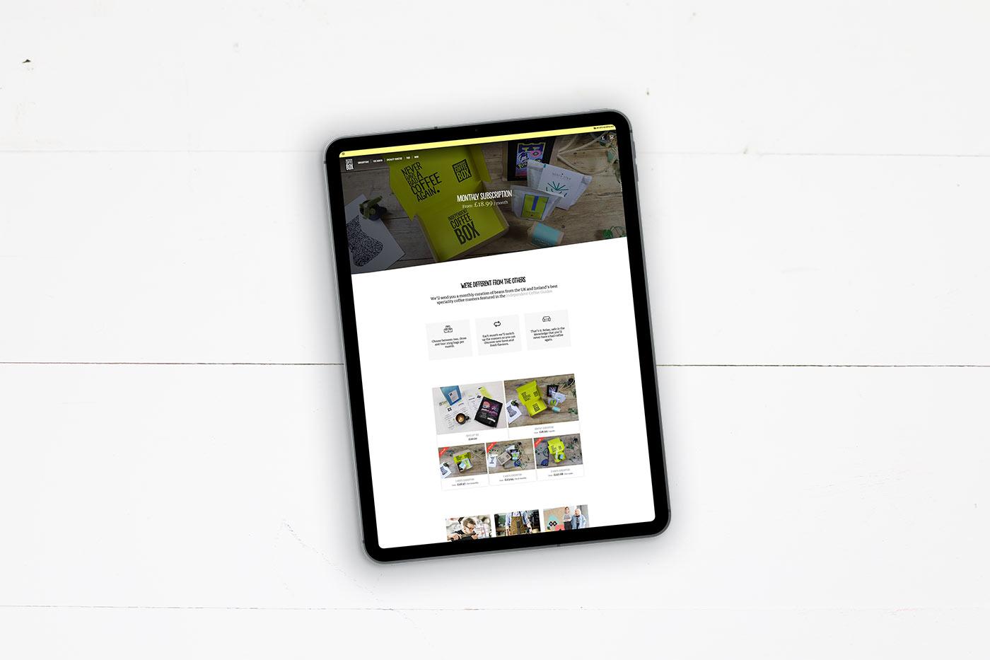 indy coffee box website