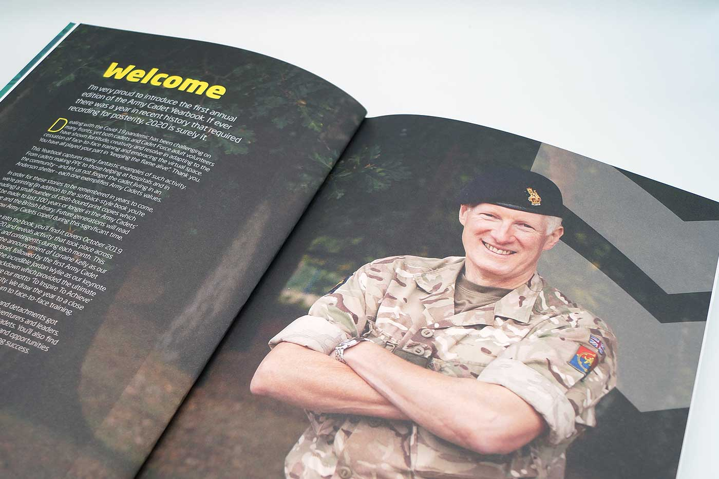 Army Cadet Yearbook