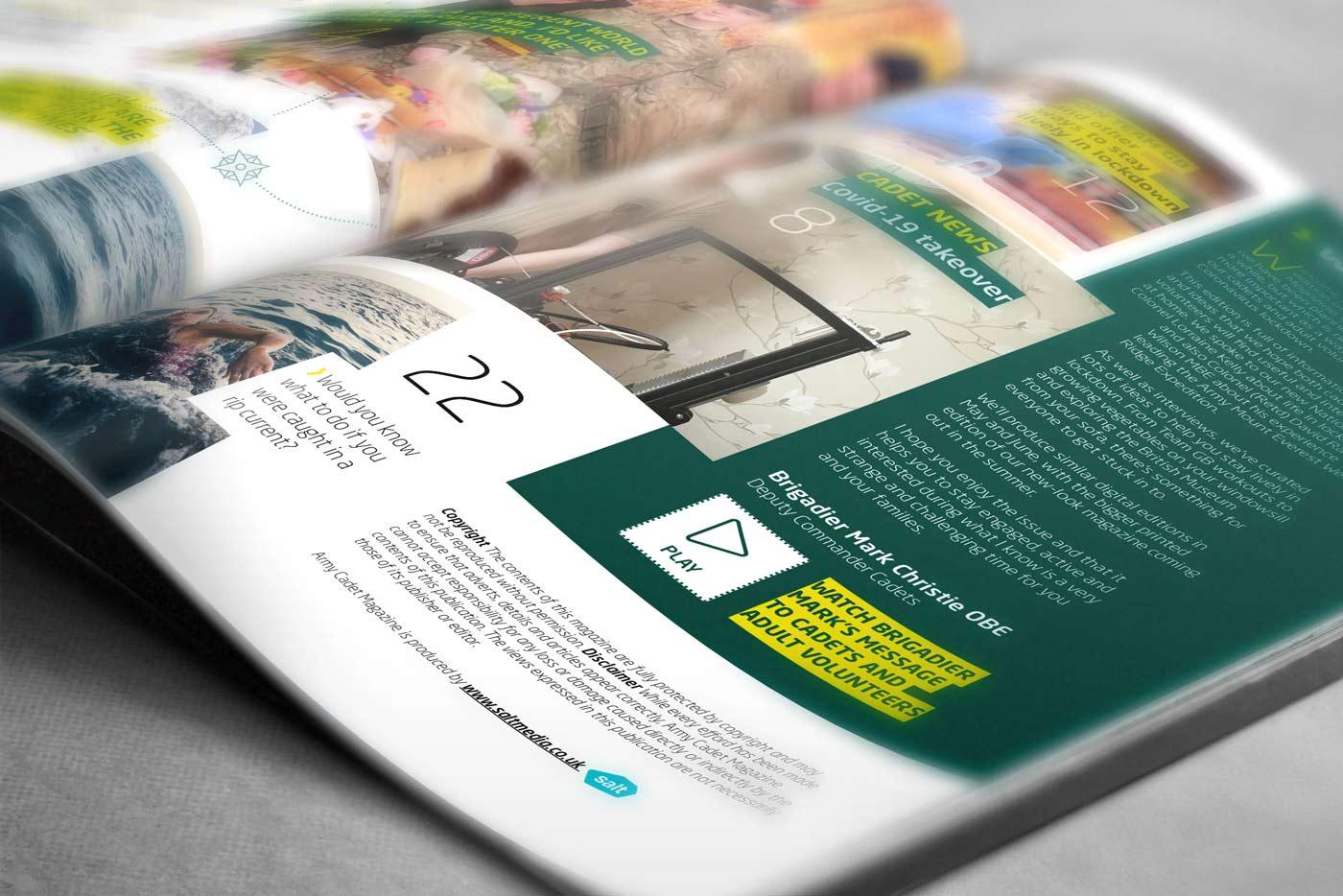 cadet magazine digital edition