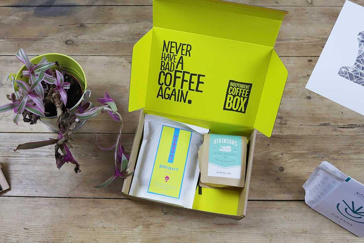 indy coffee box